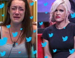 """Ylenia bloquea a Adara ('GH 17') en Twitter y la madrileña responde: """"A la primera que contesto me bloquea"""""""