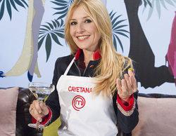 Cayetana Guillén consigue ser la primera finalista de 'MasterChef Celebrity'