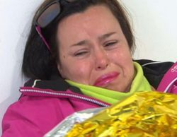Chiqui, a punto de abandonar 'Sálvame Snow Week' tras lesionarse cuando iba a esquiar