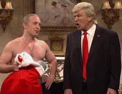 """Putin a Trump en 'Saturday Night Live': """"El regalo eres tú"""""""