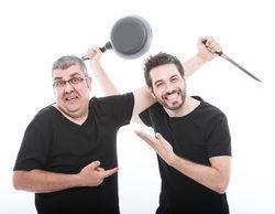 Florentino Fernández y Dani Martínez graban un programa piloto para las sobremesas de Cuatro