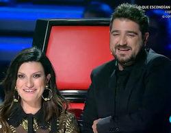 Arranca la gran final de 'La Voz' haciendo un repaso con Laura Pausini y Antonio Orozco