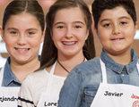 'MasterChef Junior 4' despide a sus primeros aspirantes: Alejandra, Javier y Loreto