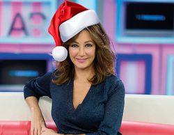 Ana Rosa hace un guiño a Terelu y celebra la Lotería de Navidad con un chocolate con porras