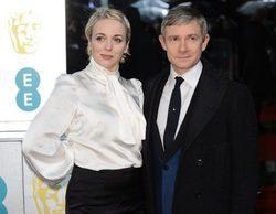 Los actores de 'Sherlock', Martin Freeman y Amanda Abbington, se separan