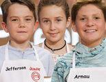 Jefferson, Natalia y Arnau, nuevos expulsados de la cuarta edición de 'MasterChef Junior'