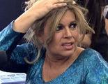 Terelu Campos sufre una aparatosa caída durante 'Las Campos: El Debate'