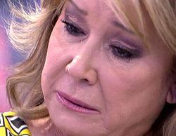 Mila Ximénez abandona 'Sálvame' tras recordar su bronca con Terelu Campos