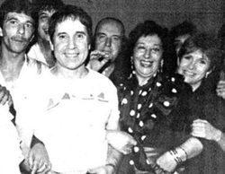 Carrie Fisher coincidió con Chiquito de la Calzada durante una fiesta en Málaga
