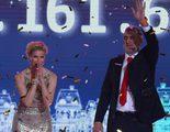 La 'Gala Inocente, Inocente' recauda más de 1.161.000 euros y reúne a 1,8 millones de espectadores en La 1