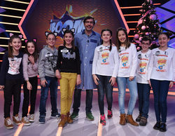'La ruleta de la suerte' y '¡Boom!' emiten el 5 de enero en su horario habitual un especial con niños
