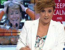 """Esperanza Aguirre llama """"señora de Ferreras"""" a Ana Pastor y Cristina Pardo le contesta: """"Es algo más que eso"""""""