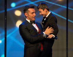 'Adrián, ¡qué grande!' marca un 13,6% en Telecinco y la gala de La 1 anota un 7,9%, pero lidera el cine de A3