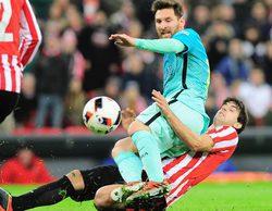El partido de la Copa del rey entre el Ath. Bilbao y el Barcelona hace líder a GOL con un 16,7%