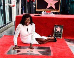 Viola Davis ('How to Get Away With Murder') recibe su estrella en el Paseo de la Fama de Hollywood
