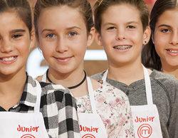 Paula, Natalia, Alex y Paloma, finalistas de la cuarta edición de 'MasterChef Junior'