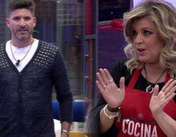 'GH VIP 5': Tenso reencuentro entre Toño Sanchís y Terelu Campos en la casa