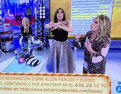 Paz Padilla y Mila Ximénez disputan una de sus mayores batallas dialécticas en 'Sálvame' por el acento andaluz