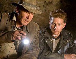 """""""Indiana Jones y el reino de la calavera de cristal"""" arrasa en Neox con un 4,2%, pero lidera 'Big Bang'"""