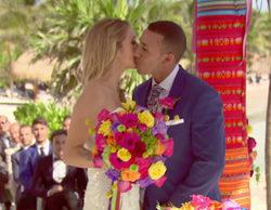 'Casados a primera vista': Mónica y Jordi terminan su boda con una apasionada noche