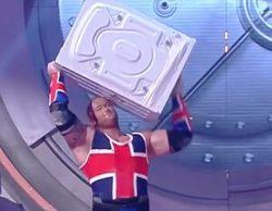 """'Juego de Tronos': Hafþór Björnsson (""""La Montaña"""") lanza lavadoras en televisión por un Récord Guiness"""