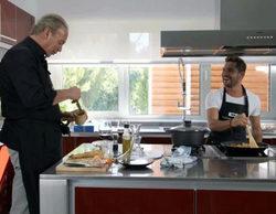David Bisbal cocina su primera paella con Bertín Osborne en 'Mi casa es la tuya'