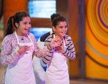 Paloma y Paula, finalistas en la prueba final de 'MasterChef Junior' 4