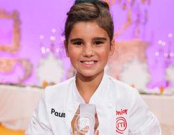 """Paula, ganadora de 'MasterChef Junior 4': """"Me costó mucho mantener el secreto"""""""
