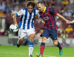 El partido del Real Sociedad - Barcelona en Gol (15%) arrebata el liderazgo a 'La que se avecina' (5,2%)