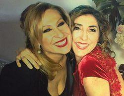 Rosa Benito y Paz Padilla ('Sálvame') se reencuentran en la fiesta de cumpleaños de Tamara Gorro