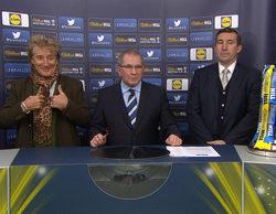 Rod Stewart la lía en la televisión británica en el sorteo de la Copa Escocesa de fútbol