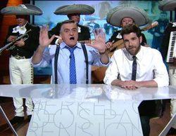 """'El Intermedio': Gonzo entrega a Bárcenas la banda al """"Fucking Master of the Universe"""""""