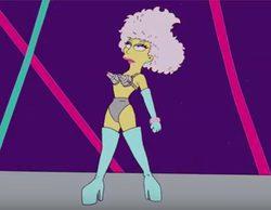 'Los Simpson' ya predijeron la actuación de Lady Gaga volando en la Super Bowl 2017