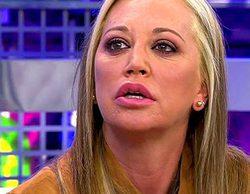 'Sálvame': Belén Esteban abandona el plató del programa tras discutir con Laura Fa