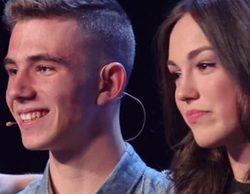 'Got Talent': María Parrado, ganadora de 'La Voz Kids', cumple el sueño de un concursante que le dedica poesía
