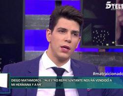 """Diego Matamoros: """"Jorge Blanco fue el que dio el chivatazo sobre Nagore Robles y Sandra Barneda, por venganza"""""""