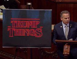 'Stranger Things' se cuela en el Congreso de EE.UU. para compararse con Donald Trump