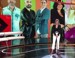 Aída Nízar sufre un aparatoso accidente en el plató del debate de 'GH VIP 5'