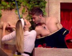 'GH VIP 5': Marco y Alyson se besan durante la prueba semanal