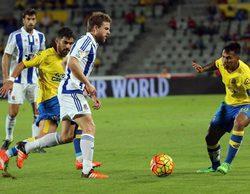 El partido Las Palmas - Real Sociedad lidera en Gol (5,3%) y FDF vuelve a acertar con 'LQSA' (5,3%)
