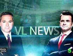 'laSexta noche' crea 'VL News', el nostálgico y divertido informativo de Iñaki López y Vicente Vallés
