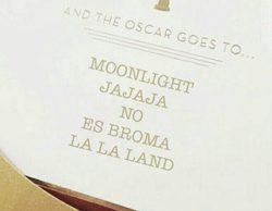 """Oscar 2017: El falso premio de """"La la land"""" protagoniza los mejores memes los premios"""
