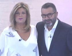 Crossover en Telecinco: Terelu Campos y Jorge Javier Vázquez pasan por la pasarela de 'Cámbiame'