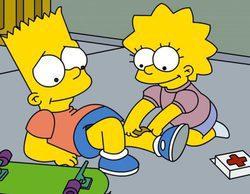 'Los Simpson' (3,1%) lidera en Neox y 'Restaurante indiscreto' (2,7%) en Mega se cuela entre lo más visto