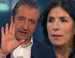 Espantada de Cristina Cubero en 'El chiringuito' tras una fuerte pelea con Josep Pedrerol