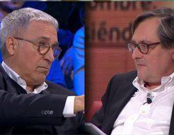 'laSexta noche': Monumental bronca entre Xavier Sardà, Paco Marhuenda y Eduardo Inda