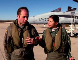 La 1 estrena la segunda temporada de 'FAS' en la Base Aérea de Torrejón de Ardoz junto al ejército del Aire