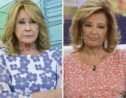 """Mila Ximénez abandona el plató de 'Sálvame' tras pelearse con Mª Teresa Campos: """"¡No se puede hablar contigo!"""""""