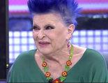 """Lucía Bosé ('Sábado Deluxe'): """"Estoy ya de la televisión hasta la coronilla. Quiero estar tranquila"""""""
