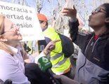"""Una manifestante de Hazte Oír amenaza a otra mujer ante las cámaras de laSexta: """"¡Prepárate!"""""""